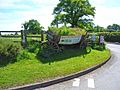 Old farm cart, Rosliston - geograph.org.uk - 184289.jpg