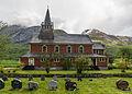 Olden kyrkje, Stryn, West view 20150603 1.jpg