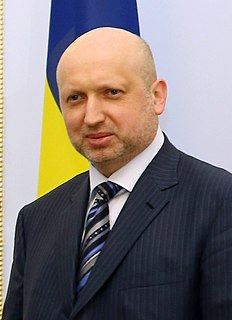 Oleksandr Turchynov Ukrainian politician, screenwriter, and Doctor of Economic Sciences