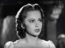 Olivia de Havilland in Captain Blood trailer.JPG