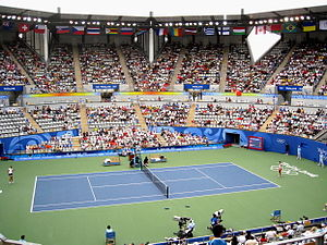 National Tennis Center, Beijing - Olympic Green Tennis Center during the 2008 Summer Olympics