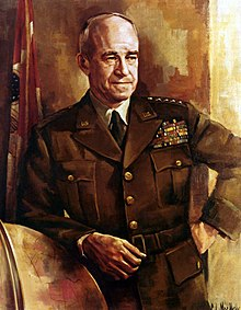 Portrait du général Omar Nelson Bradley
