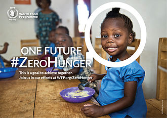 World Food Day - An image produced as part of the World Food Programme's social media campaign for World Food Day in 2015.