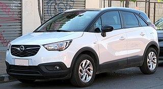 Opel Crossland Subcompact crossover SUV