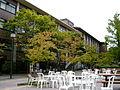 Open-air Cafe in West Side of Campus (Kinugasa Campus, Ritsumeikan University, Kyoto, Japan).JPG