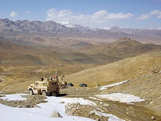 Cougar (vehicle) - Polish Army Cougars in Afghanistan