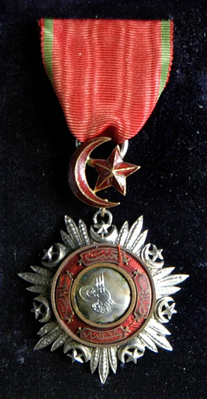 Order of the Medjidie - Order of the Medjidie awarded to Major Rodolph De Salis (1811-1880) of the 8th Hussars.