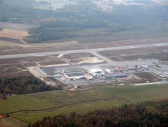 Örebro Airport - Image: Orebro Airport overview