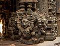Ornate Pillar Carvings of Vasanta Mantapa - Bhoga Nadeeshwara Temple 03.jpg