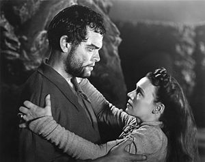Macbeth (1948 film) - Orson Welles (Macbeth) and Jeanette Nolan (Lady Macbeth)