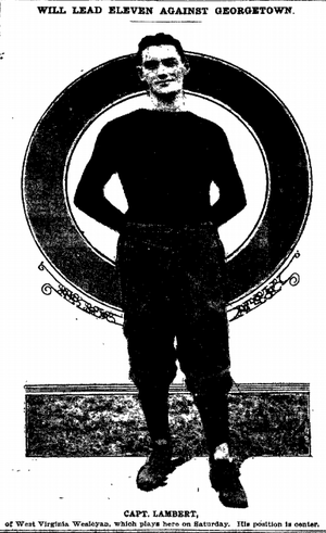 Oscar Lambert - Lambert from The Washington Post, Nov. 1913.