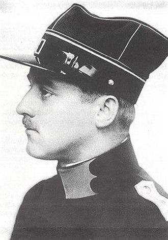 Oskar Bider - Image: Oskar Bider 1915 Fliegertruppe
