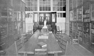 Lisgar Collegiate Institute - School library collection, 1910