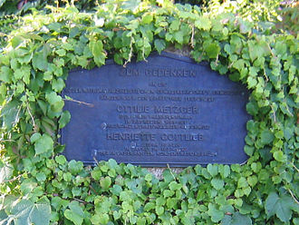 Bayreuth Festival - Memorial to Jewish singers in the Bayreuth Festival Park