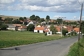 Overview of Prosenická Lhota, Příbram District.JPG
