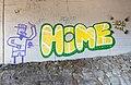 Pörtschach Goritschach Brockweg S-Autobahn Brückenmauer A2 Graffiti 05012020 7898.jpg
