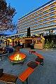 Pörtschach Johannes-Brahms-Promenade Stiller Advent vor dem Parkhotel 02122011 2776.jpg