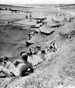 P-38s at Alexai Point AAF Attu 1943.jpg