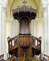 P1280800 Paris XX eglise Notre-Dame-de-la-Croix de Ménilmontant chaire rwk.jpg