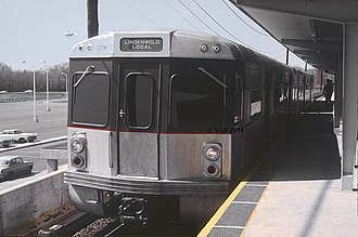 PATCO Speedline - Original PATCO car in 1969.