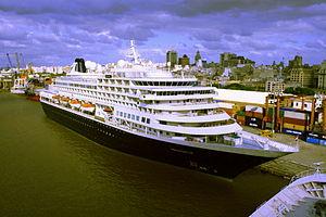 Port of Montevideo - Prisendam in the Port of Montevideo