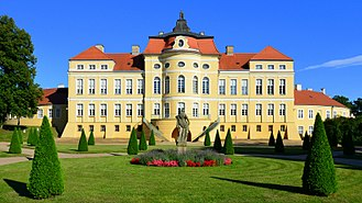 Greater Poland - Palace of the Raczyński family in Rogalin, within the Rogalin Landscape Park