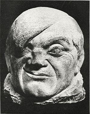 Pablo Gargallo - Image: Pablo Gargallo, 1913, Masque de Picasso (Portrait of Picasso), sculpture, from Maurice Raynal, 1921