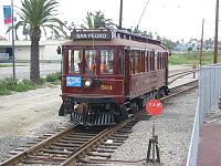 Pacific Electric Replica 501 in San Pedro.jpg