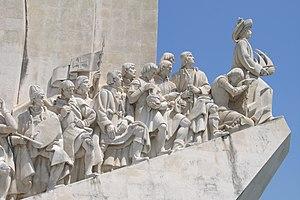 Padrão dos Descobrimentos monument in Lisbon
