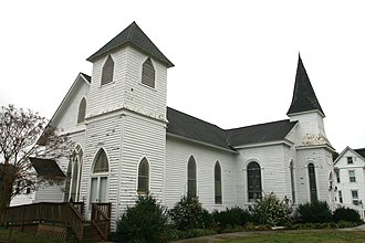Painter, Virginia - Painter-Garrisons United Methodist Church, founded in 1784.