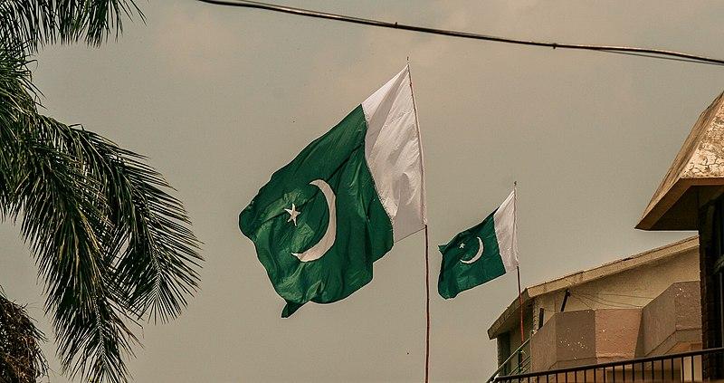 File:Pakistan Flag in air.jpg