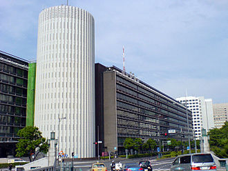 Mainichi Shimbun - Palaceside Building, the headquarters of Mainichi Shimbun in Tokyo.