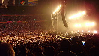 Tour Generación RBD en Vivo (video) - The Palacio de los Deportes, where the DVD was recorded.