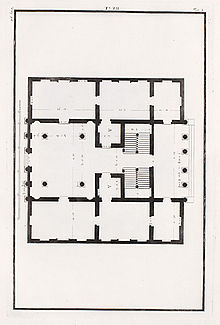 220px-Palazzo_Antonini_pianta_Bertotti_Scamozzi_1781 Palazzo Floor Plan For House Builders on construction floor plans, furniture floor plans, restaurants floor plans, hotels floor plans, interior design floor plans, schools floor plans, banks floor plans,