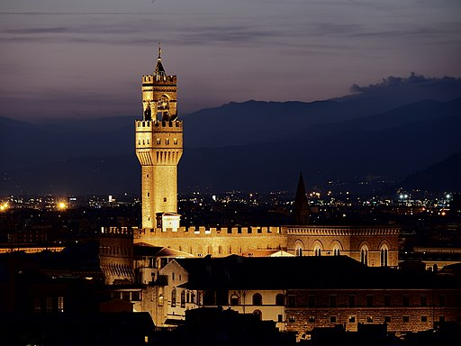 Palazzo Vecchio by nigth