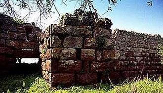Acropolis Palaiokastro - Image: Paliokastro methana