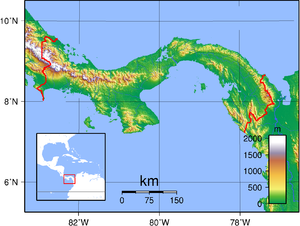 Geography of Panama - Panama's topography.