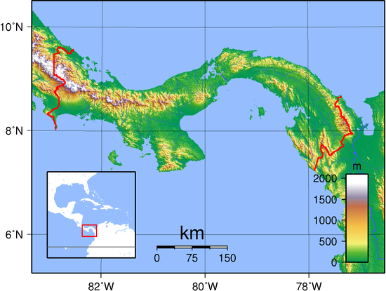 Geography of Panama - Wikipedia