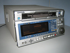 1995 Panasonic D5 Digital VTR, model AJ-HD3700H