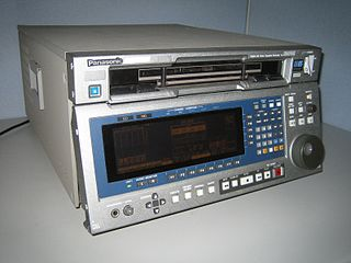 D5 HD Magnetic tape-based videocassette format