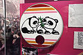 Panda art on bass drum head - Patrick Hallahan (My Morning Jacket), 2005 Bonnaroo - Rock and Roll Hall of Fame (2014-12-30 15.26.23 by Sam Howzit).jpg