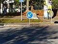 Panneau B21a2, Avenue Général-de-Gaulle, Annemasse.jpg