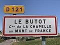 Panneau entrée Butot Chapelle Mont France 2.jpg