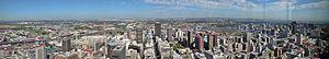 Timeline of Johannesburg - Aerial view of Johannesburg, 2006