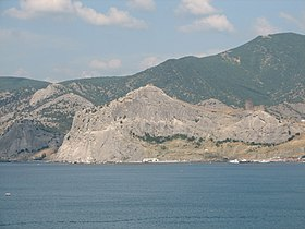 Panoramic view from the east coast of Sudak bay (06).jpg