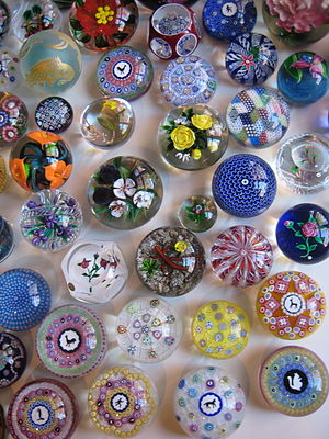 Paperweight - A paperweight collection