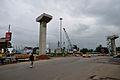 Parama-Park Circus Flyover Under Construction - Parama Island - Kolkata 2012-07-31 0548.JPG
