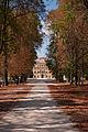 Parco Ducale - Viale e vista del Palazzo Ducale.jpg