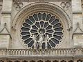 Paris - Cathédrale Notre-Dame - PA00086250 - Rosace ouest (2).JPG