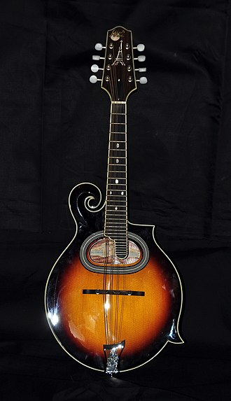 Mandolin - Image: Paris Swing Samois Mandolin MS 130 SN